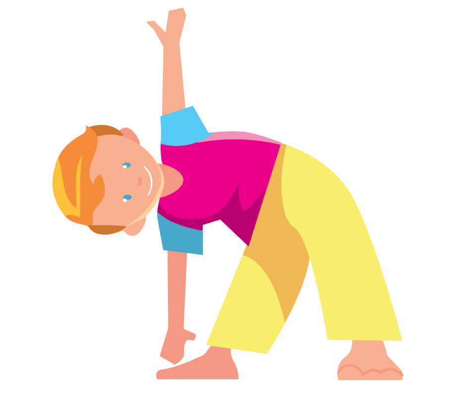 Kid Exercise clipart free