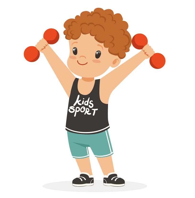 Kid Exercise clipart png