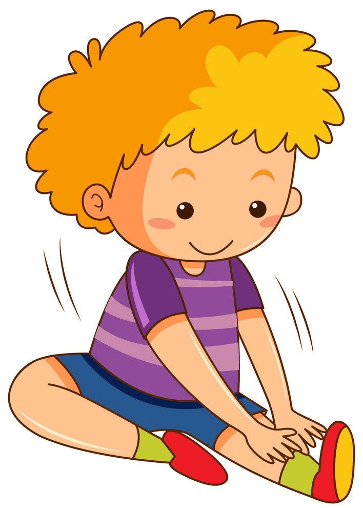 Kid Exercise clipart