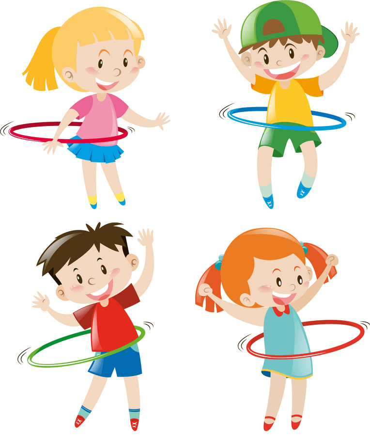 Kids Exercise clipart free