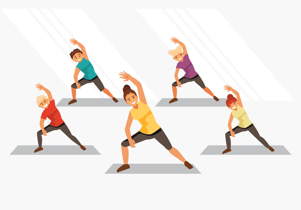 Kids Exercise clipart image