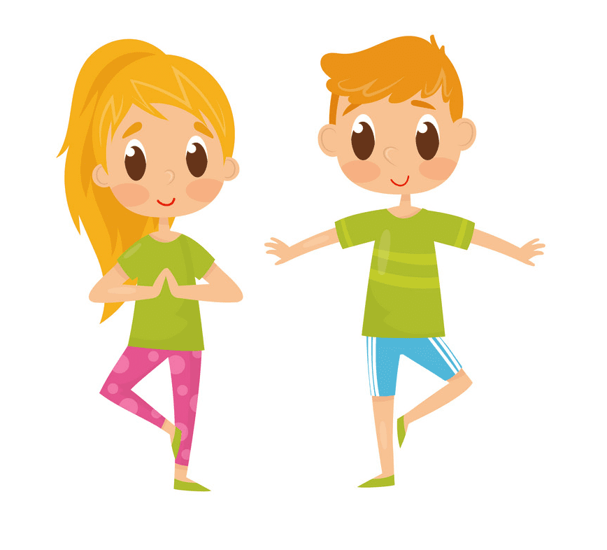 Kids Exercise clipart png free