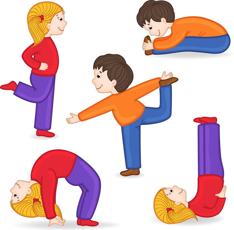Kids Exercise clipart png images