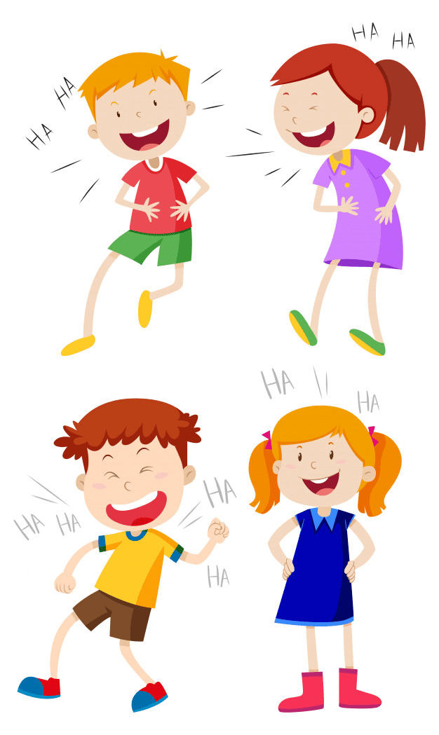 Kids Laughing clipart free images