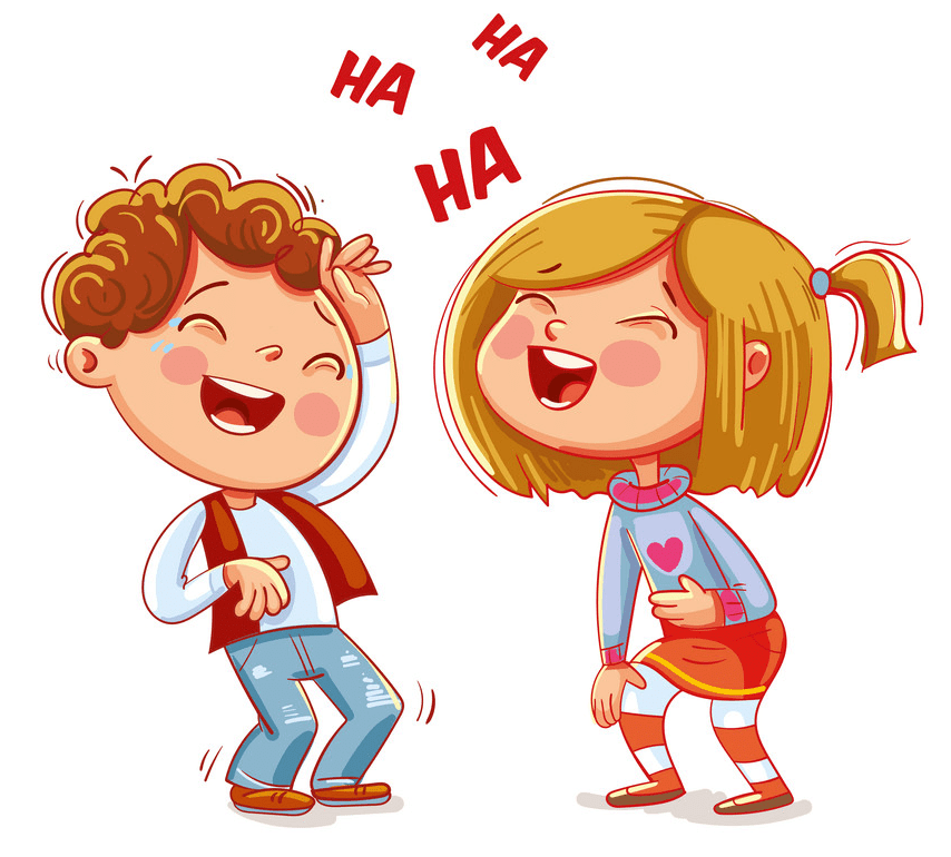 Kids Laughing clipart free