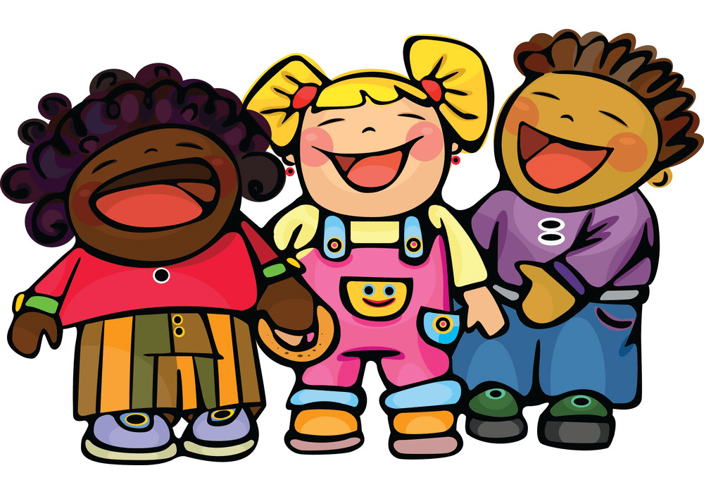 Kids Laughing clipart image
