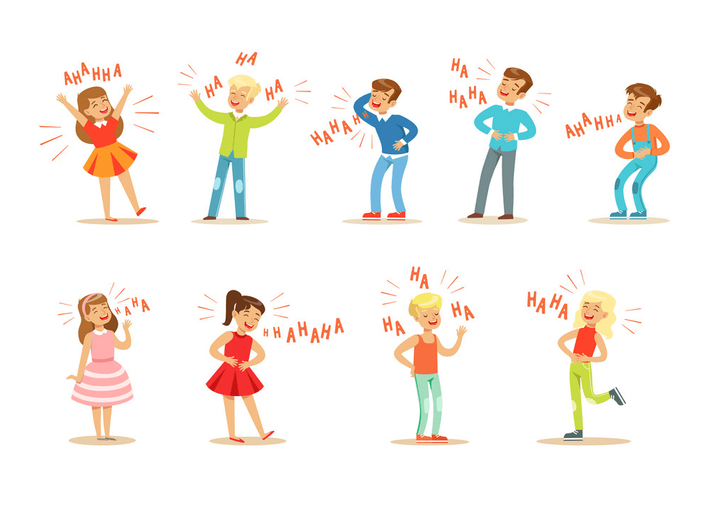 Kids Laughing clipart images