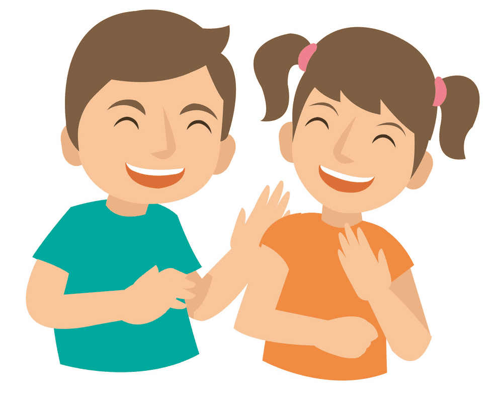 Kids Laughing clipart