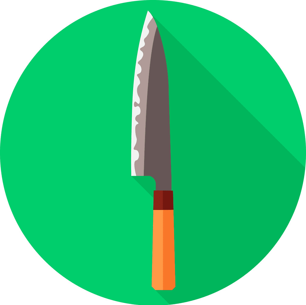 Kitchen Knife clipart png free