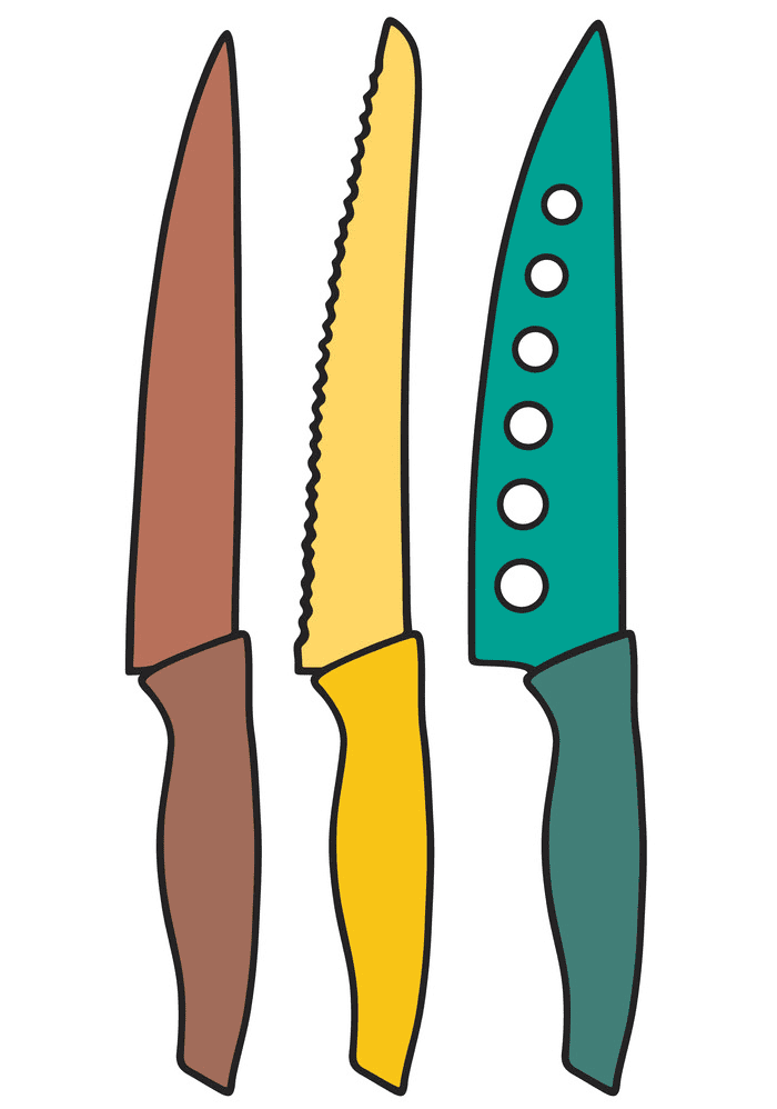 Kitchen Knives clipart png image