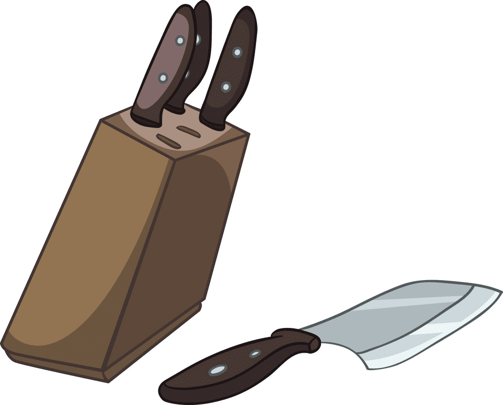Kitchen Knives clipart png