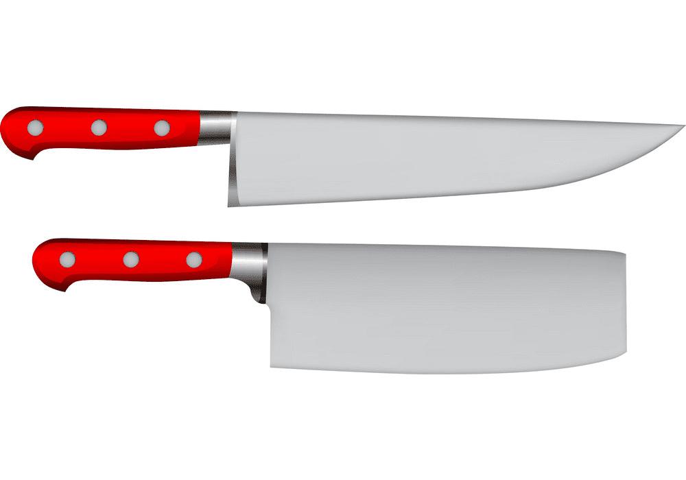Kitchen Knives clipart