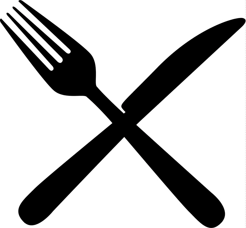 Knife and Fork clipart free