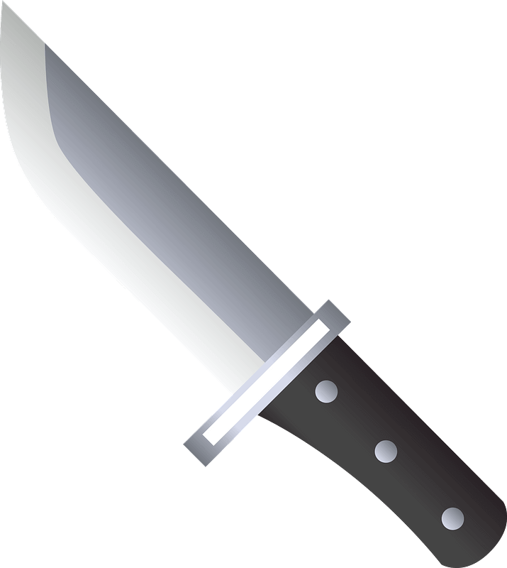 Knife clipart transparent 6