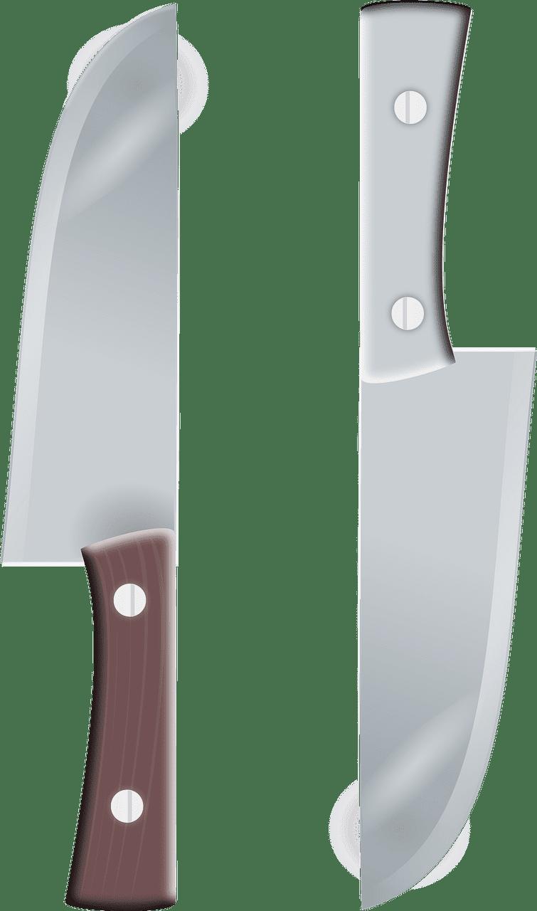 Knives clipart transparent background