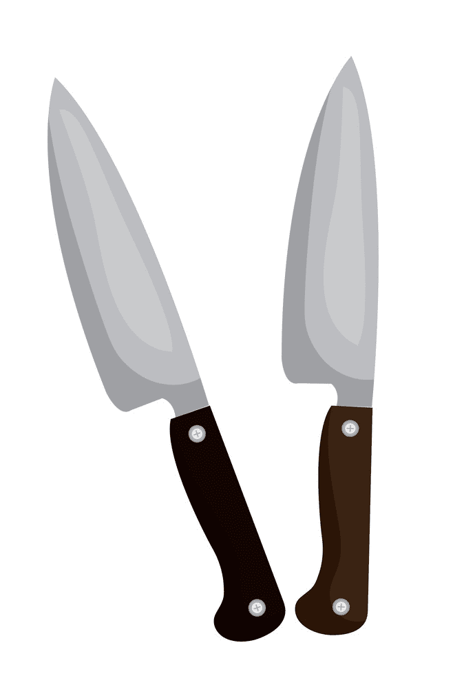Knives clipart