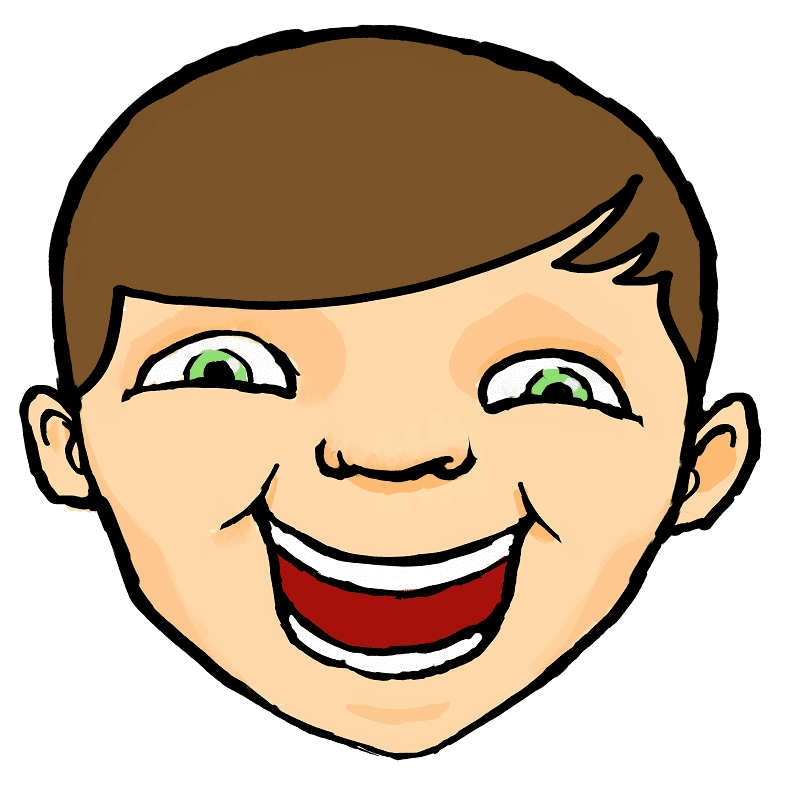 Laughing Face clipart for free