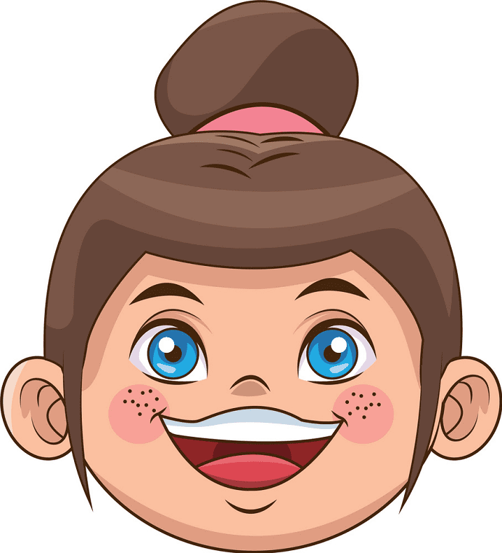 Laughing Face clipart free