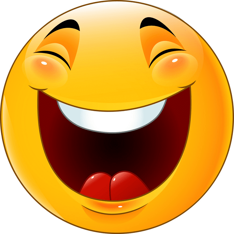 Laughing Face clipart images