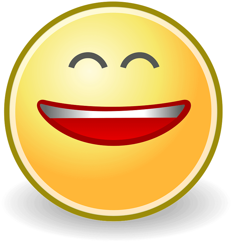 Laughing clipart transparent 1