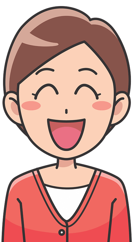 Laughing clipart transparent 10