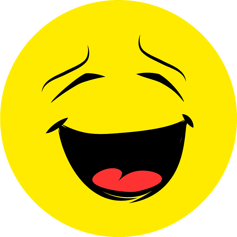 Laughing clipart transparent 4