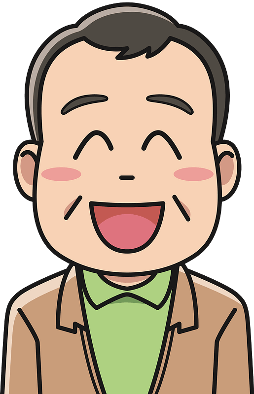 Laughing clipart transparent 5