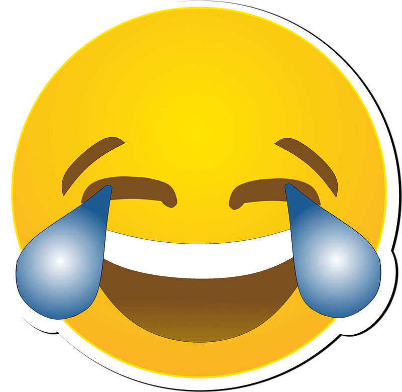 Laughing clipart transparent 8