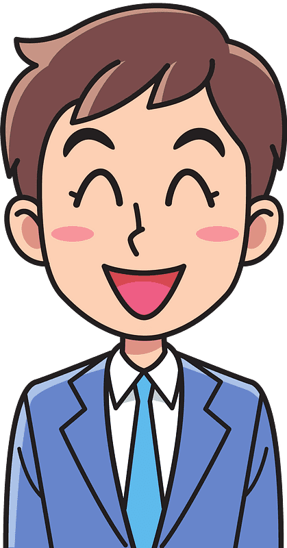 Laughing clipart transparent background 9