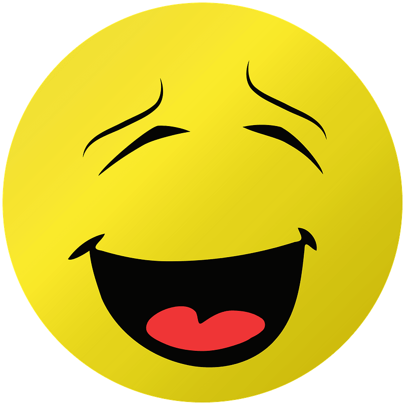 Laughing clipart transparent