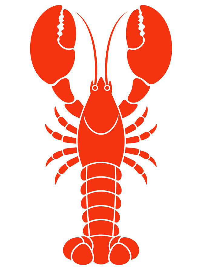 Lobster clipart 5