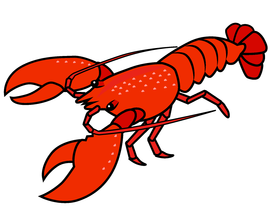 Lobster clipart 7