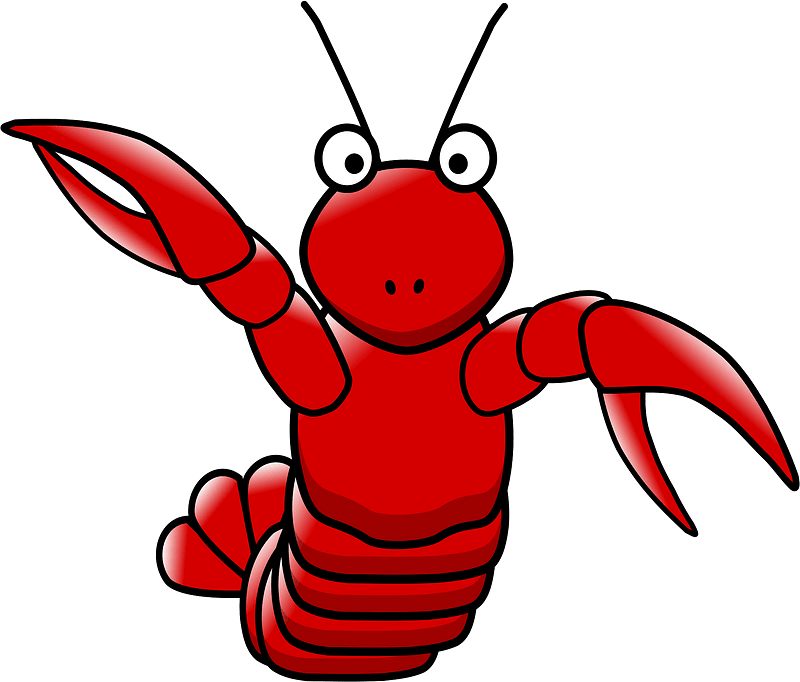 Lobster clipart transparent 19