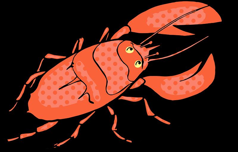 Lobster clipart transparent 2