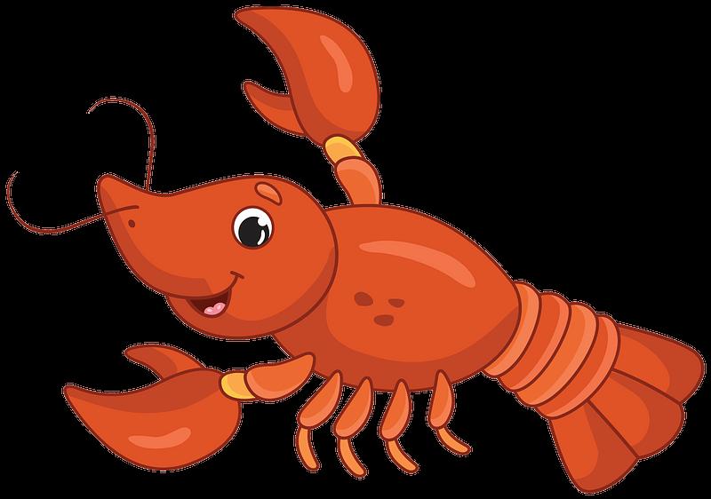 Lobster clipart transparent 5
