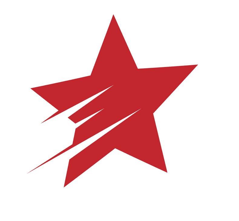 Logo Shooting Star clipart free