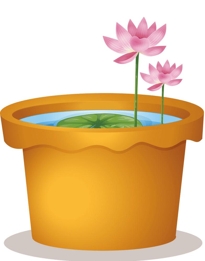 Lotus clipart 3