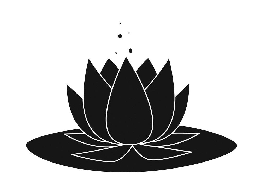 Lotus clipart 4