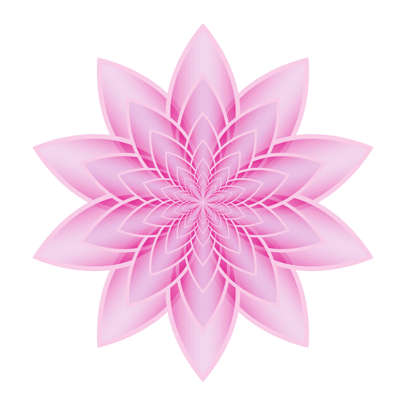 Lotus clipart 5