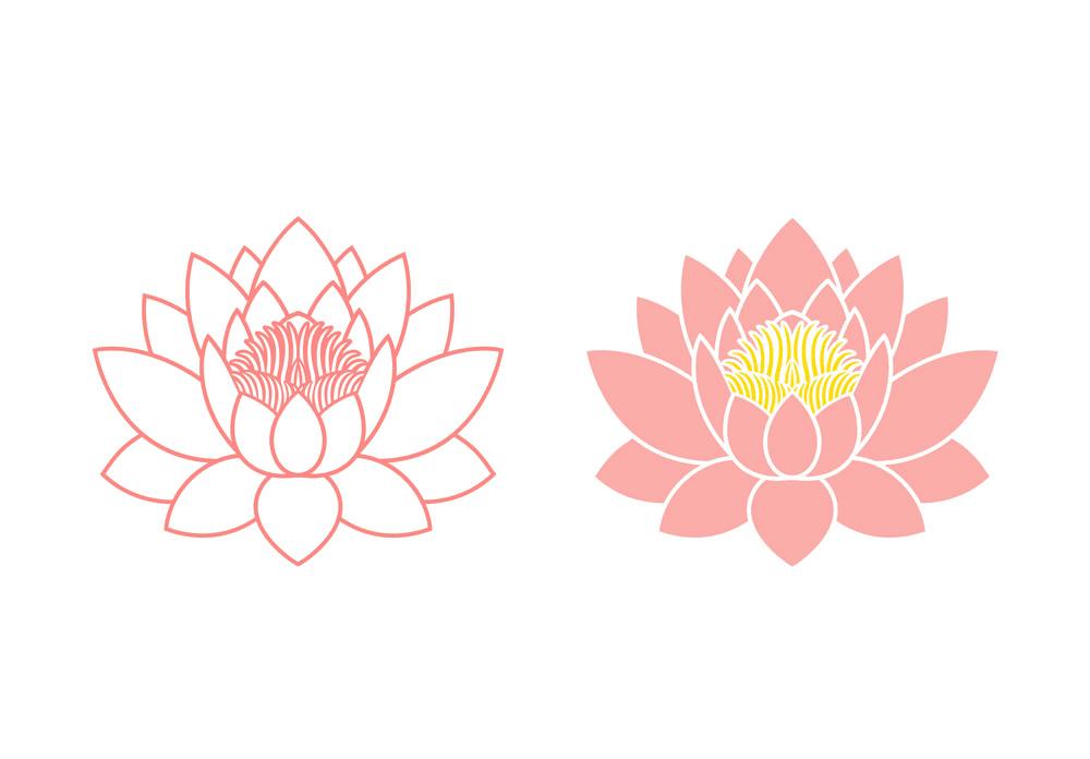 Lotus clipart 6