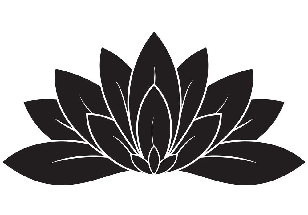 Lotus clipart 7