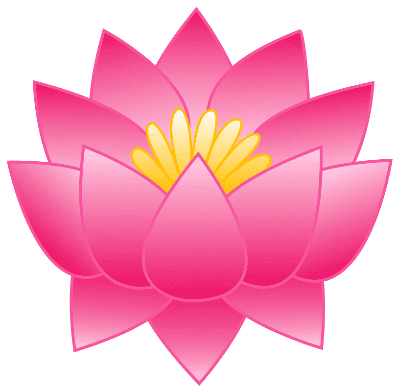 Lotus clipart 9