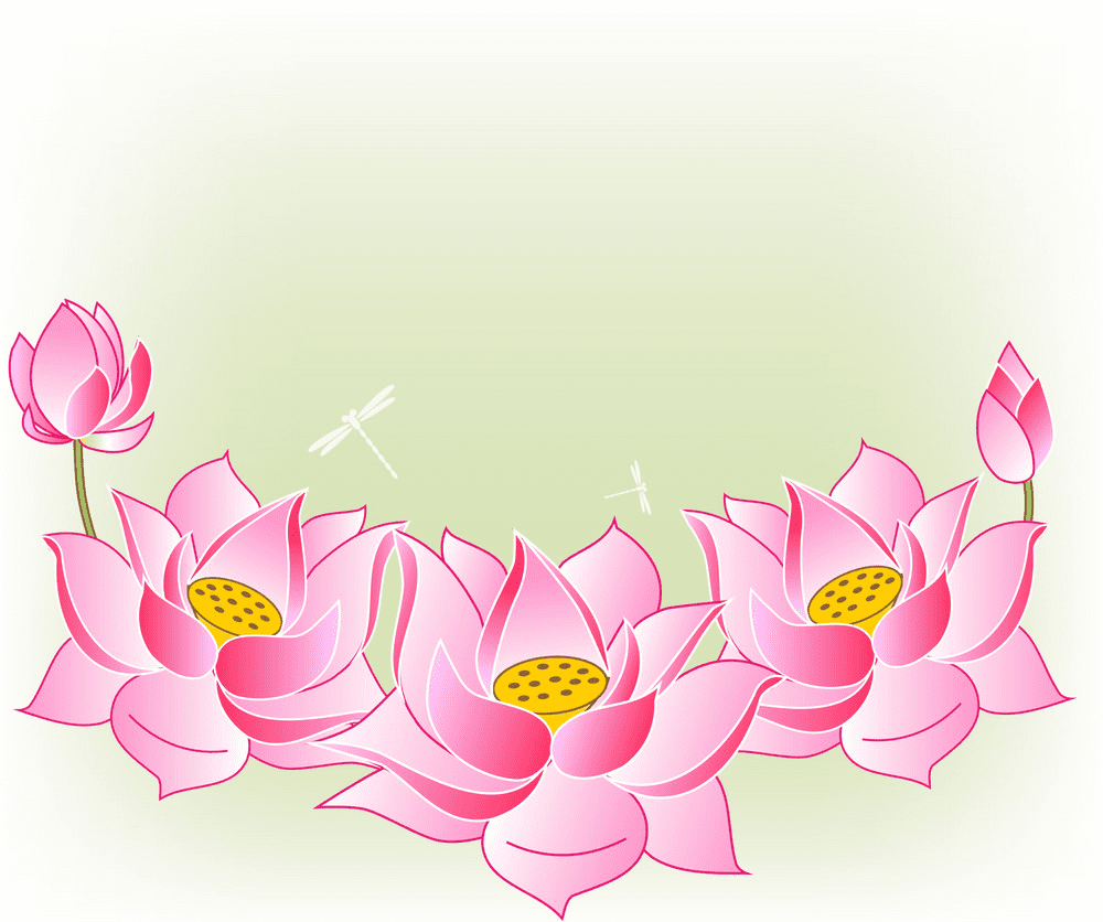 Lotus clipart for free