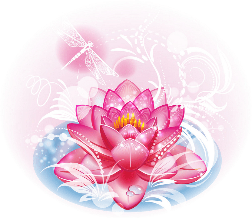 Lotus clipart images