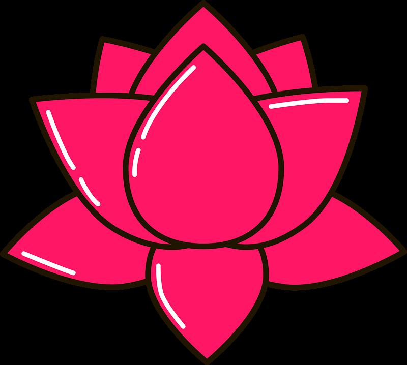 Lotus clipart transparent