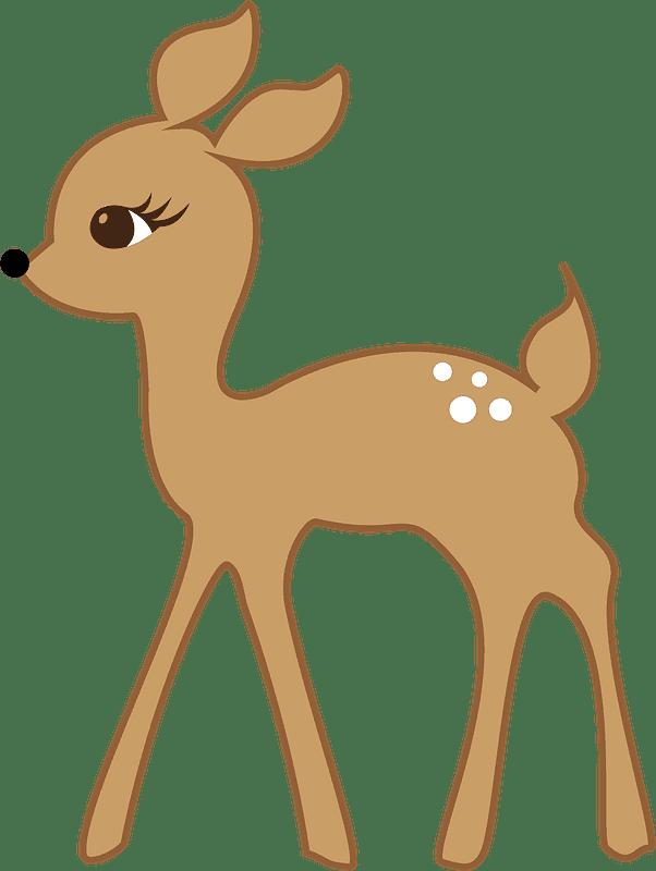 Lovely Deer clipart transparent background