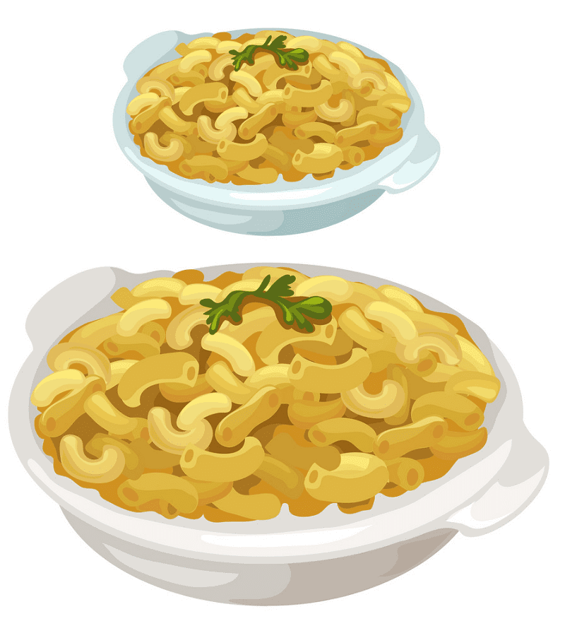 Mac and Cheese clipart image