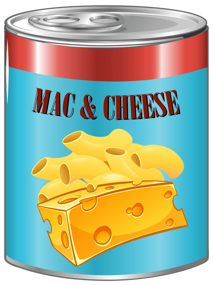 Mac and Cheese clipart png