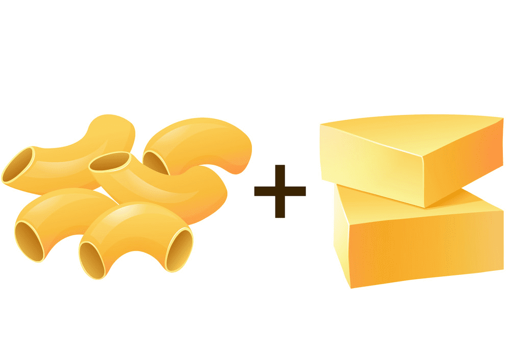 Mac and Cheese clipart