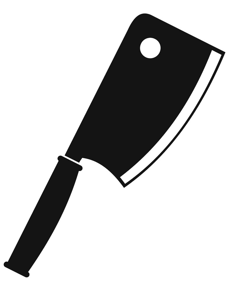 Meat Knife clipart